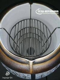 Этажерка 4 яруса для большого тандыра d 29 см / h 50 см.
