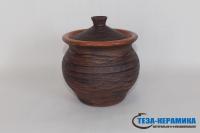 глиняный горшок для запекания