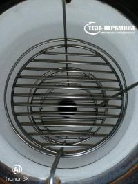 Этажерка 3 яруса для среднего резного тандыра d 25 см / h 45 см. с дополнительным кольцом