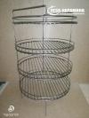 Этажерка 4 яруса для стационарного тандыра d 40 см / h 65 см. с дополнительным кольцом
